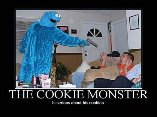Cookie Monster Bandit courtesy of wave106.com