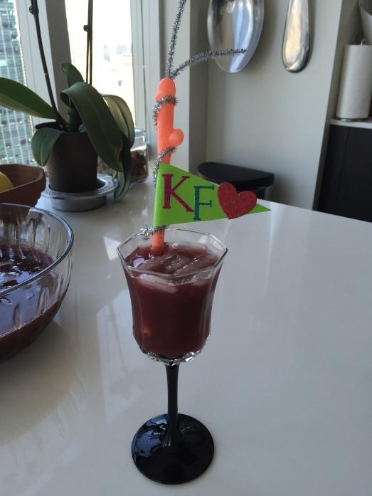 KF Sangria Glass